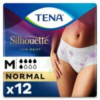 Tena Lady Silhouette Slip Absorbant Blanc Normal Médium Paquet/12 à TOURS