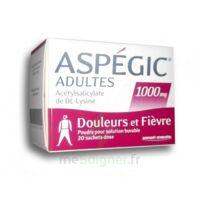 Aspegic Adultes 1000 Mg, Poudre Pour Solution Buvable En Sachet-dose 20 à TOURS