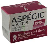 Aspegic Adultes 1000 Mg, Poudre Pour Solution Buvable En Sachet-dose 15 à TOURS