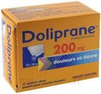 Doliprane 200 Mg Poudre Pour Solution Buvable En Sachet-dose B/12 à TOURS