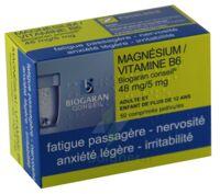 Magnesium/vitamine B6 Biogaran Conseil 48 Mg/5 Mg, Comprimé Pelliculé à TOURS