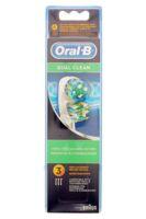 Brossette De Rechange Oral-b Dual Clean X 3 à TOURS