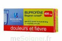 Ibuprofene Biogaran Conseil 400 Mg, Comprimé Pelliculé à TOURS