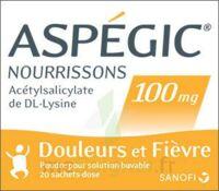 Aspegic Nourrissons 100 Mg, Poudre Pour Solution Buvable En Sachet-dose à TOURS