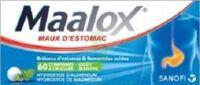 Maalox Hydroxyde D'aluminium/hydroxyde De Magnesium 400 Mg/400 Mg Cpr à Croquer Maux D'estomac Plq/60 à TOURS