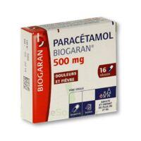Paracetamol Biogaran 500 Mg, Gélule à TOURS