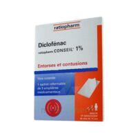 Diclofenac Ratiopharm Conseil 1 %, Emplâtre Médicamenteux à TOURS