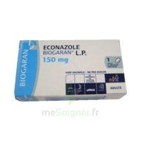 Econazole Biogaran L.p. 150 Mg, Ovule à Libération Prolongée à TOURS