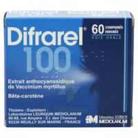 Difrarel 100 Mg, Comprimé Enrobé 6plq/10 à TOURS