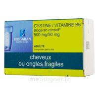 Cystine/vitamine B6 Biogaran Conseil 500 Mg/50 Mg Cpr Pell Plq/120 à TOURS