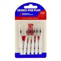 Crinex Phb Plus Brossette Inter-dentaire Cylindrique B/6 à TOURS