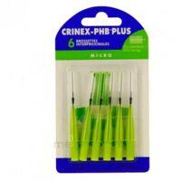 Crinex Phb Plus Brossette Inter-dentaire Micro B/6 à TOURS