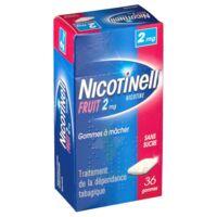 Nicotinell Fruit 2 Mg Sans Sucre, Gomme à Mâcher Médicamenteuse Plaq/36gom à TOURS