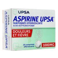 Aspirine Upsa Tamponnee Effervescente 1000 Mg, Comprimé Effervescent à TOURS