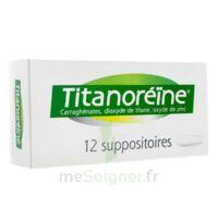 Titanoreine Suppositoires B/12 à TOURS