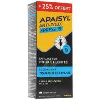Apaisyl Anti-poux Xpress 15' 250ml _ 25% Offert à TOURS