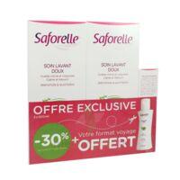 Saforelle Solution Soin Lavant Doux 2*500ml+100ml à TOURS