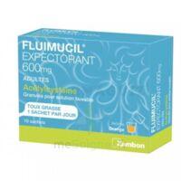 Fluimucil Expectorant Acetylcysteine 600 Mg Glé S Buv Adultes 10sach à TOURS
