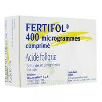 Fertifol 400 µg Cpr Plq/90 à TOURS