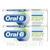 Oral B Gencives Purify Dentifrice 2*t/75ml à TOURS