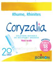 Boiron Coryzalia Solution Buvable Unidose B/20 à TOURS
