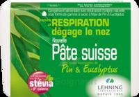 Lehning Pâte Suisse Pastilles à Sucer Pin Eucalyptus B/50g à TOURS